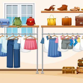 разпродажба дрехи